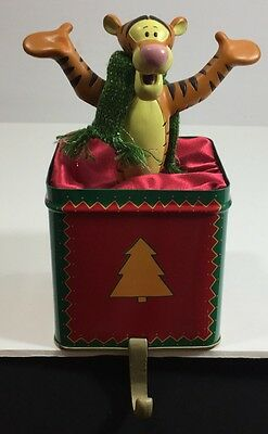 Disney Store Tigger Stocking Holder 1999