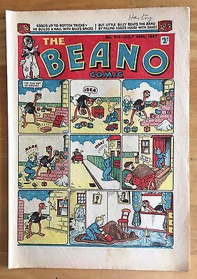 THE BEANO COMIC JULY 26th 1947 LORD SNOOTY PANSY POTTER 70th BIRTHDAY GIFT! FINE