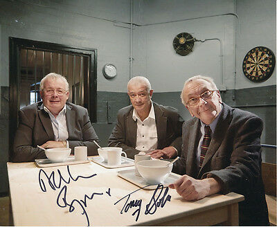 Christopher Biggins and Tony Osoba In Person Signed Photo - Porridge - AG404