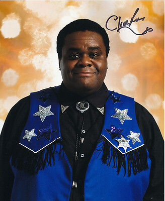 Clive Rowe In Person Signed Photo - Doctor Who - AG430