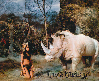 Martine Beswick In Person Signed Photo - Slave Girls - AG469