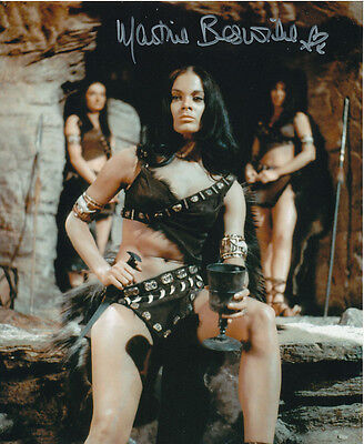 Martine Beswick In Person Signed Photo - Slave Girls - AG470