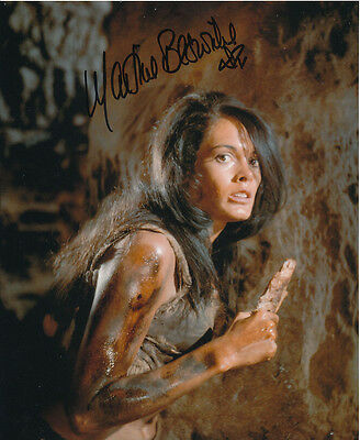 Martine Beswick In Person Signed Photo - Slave Girls - AG487