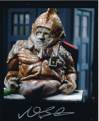 Nabil Shaban In Person Signed Photo - Doctor Who - AG409