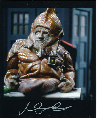 Nabil Shaban In Person Signed Photo - Doctor Who - AG425