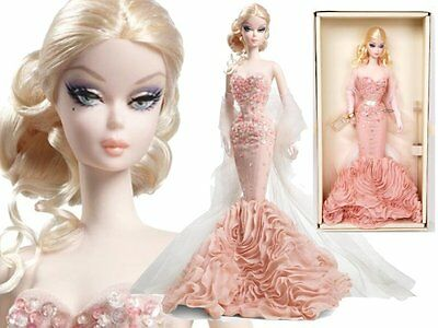 BARBIE doll Fashion Model COLLECTION MERMAID Gown Adult COLLECTOR X8254