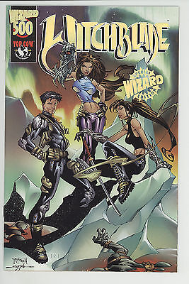 Witchblade (1995) #500 Gold Foil Wizard Special Edition Variant cov 1st Prt NM-