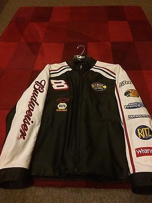 Dale Earnhardt Jr Leather Jacket 'M' - Wilsons Leather BRAND NEW!