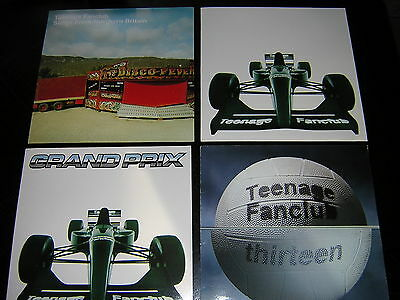 4 Teenage Fanclub Album Sleeves - Grand Prix, Thirteen, +2