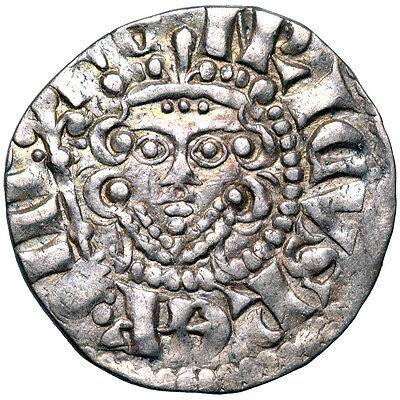 Brussels hoard. HENRY III. Penny. LONDON. Long cross. 1216–1272. .   .  7218.