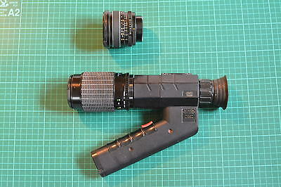 Russian T3C-2 night vision spotting scope, image intensifier with choice of lens