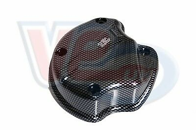 Carbon look oil pump cover Piaggio 50cc scooters - normal SRP £16.54