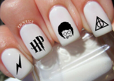 Harry Potter Nail Art Stickers Transfers Decals Set of 42