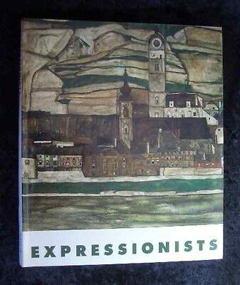 Expressionists. Paintings, watercolors and drawings by 12 German Expressionists.