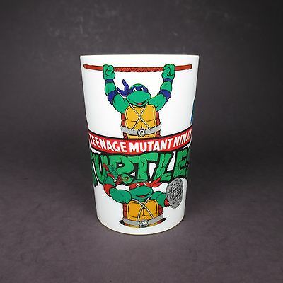 Vintage Teenage Mutant Ninja Turtles Plastic Drink Cup Party Favor Peter Pan 89