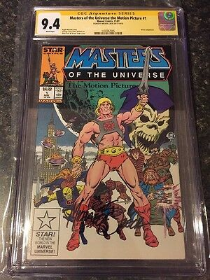 Masters Of The Universe Motion Picture Comic!Rare movie adaptation CGC 9.4 SS MZ