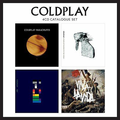 COLDPLAY - 4 CD CATALOGUE SET    (CD) Sealed