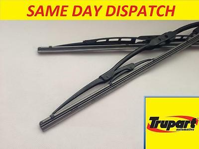 Dacia Logan Mk1 13- Front Windscreen Wiper Blades X2 Pair Set Genuine Trupart