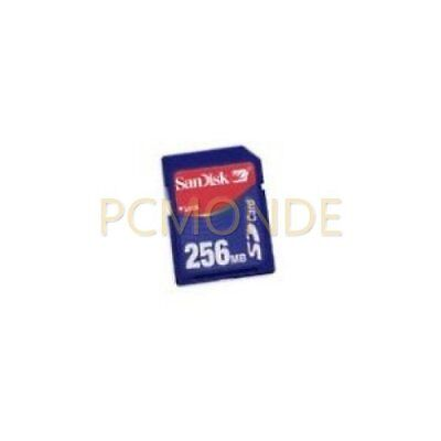 10x SanDisk 256MB Secure Digital Memory Card (SDSDB-256)