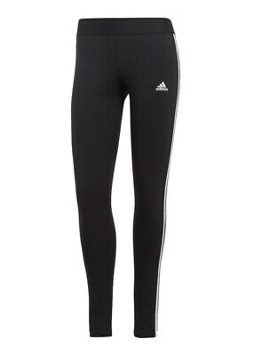 f6bee15fbb34db adidas Damen STretch Climalite Sport Fitness Trainings Hose 3S Long Tight  BQ2072
