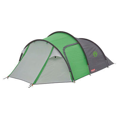Coleman Cortes 3 Person Man Tent Camping Festival Weather Resistant Shelter