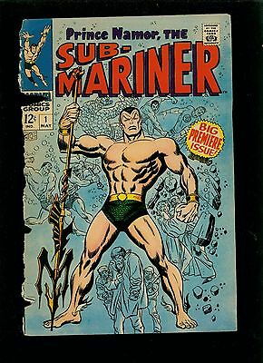 Sub-Mariner 1 - Large Scans - Most of Front Cover