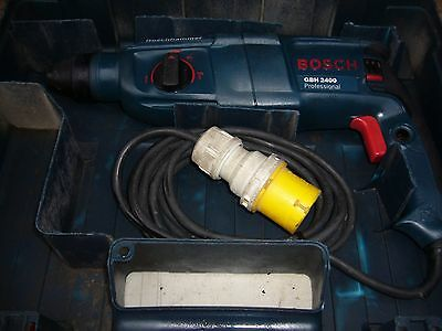 Bosch GBH 2400 110v SDS Rotary Hammer Drill 3 Mode with Chisel Function 720W