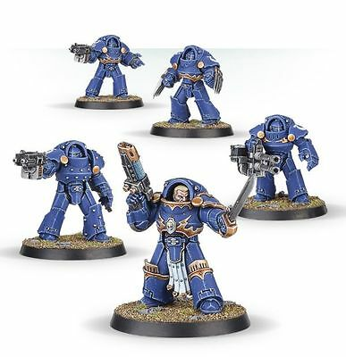 Warhammer 40K 30k Burning at Prospero Tartaros Terminators Squad (5)