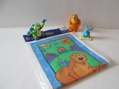 Bear in the Big Blue house Bear Tutter Treelo Figures 8 Gift Party Bags