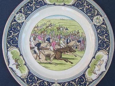 Caverswall THE DERBY Horse Race Racing LIMITED EDITION PLATE only 1000 made