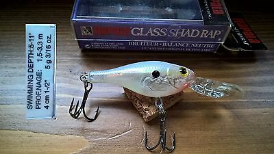 Artificiale Rapala Glass Shad Rap GSR-4 GSD / Fishing leurre lure minnow