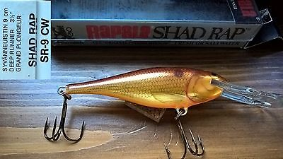 Artificiale Rapala Shad Rap Deep Runner SR-9 CW / Fishing leurre lure minnow