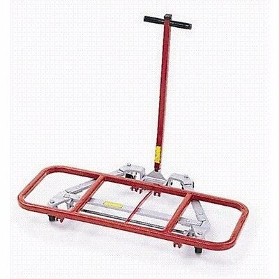 """Lift Dolly Mighty King 16"""" x 40"""" Desk Lift with 3"""" x 1-1/4"""" Casters 600lb load"""