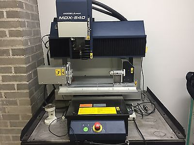 Roland MDX 540A Milling Machine with 4th Axis and Automatic Tool Changer
