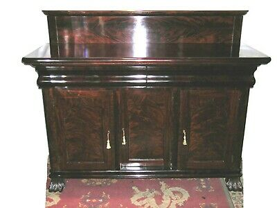 American Classical Sideboard in the Manner of Meeks Gothic Taste