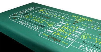 Craps Table Felt Layout