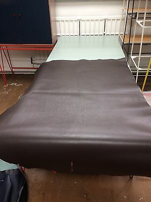Large Piece Italian Brown Leather Vegetable Tanned for Belts, Bags, Upholstery