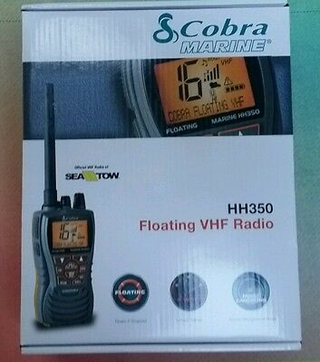 BRAND NEW Cobra Floating Handheld VHF Marine Radio MRHH350FLT Marine MD