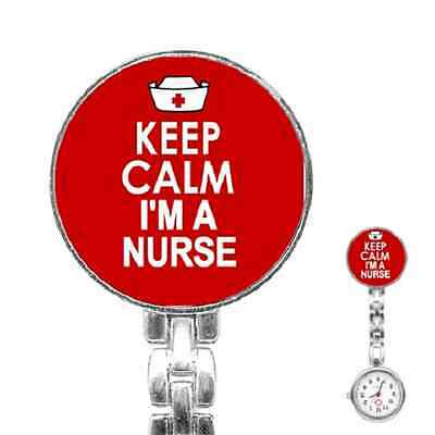 Keep Calm I'm A Nurse Nurse's Watch Medical Hospital  ***fantastic Gift Item***