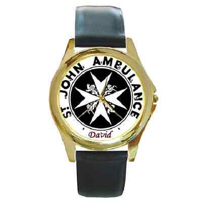 St. John Ambulance Watch *customised With Any Name* *great Gift Idea*