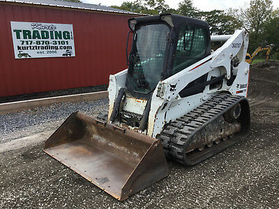 2011 Bobcat T750 Tracked Skid Steer Loader w/ Cab!