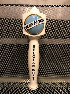 BLUE MOON Belgian White ~ New Style ~ TALL Beer Tap Handle