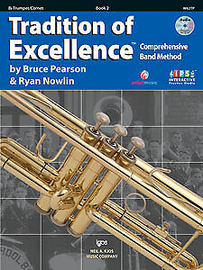 Tradition of Excellence Enhanced BK 2 - Trumpet / Cornet - W62TP - Pearson