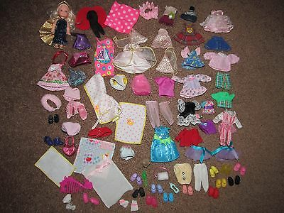 Barbie Sister Kelly Club Friend Tommy Doll Shoes Outfit Clothes Dress Gown Lot
