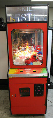 Used Skill Tester Arcade Machine, Red