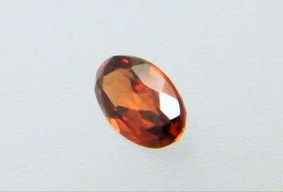 Garnet Natural Red Colour 5mm x 3mm Oval Cut Single Stone