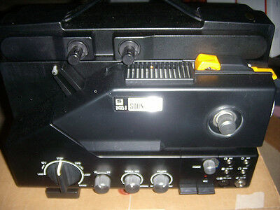 Sankyo Sound 500 Super Single 8 Projector ORG BOX AND EXTRAS