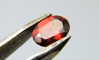 Garnet Natural Red Colour 7mm x 5mm Oval Cut Single Stone