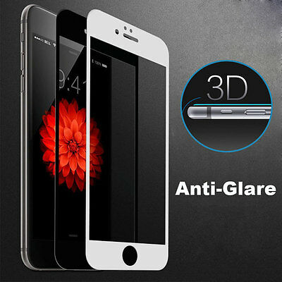 9H 3D Soft Edge Anti-Glare Tempered Glass Screen Protector Film for iPhone 7Plus
