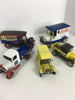 Pepsi Ford Cars Collectibles Lot Of 5